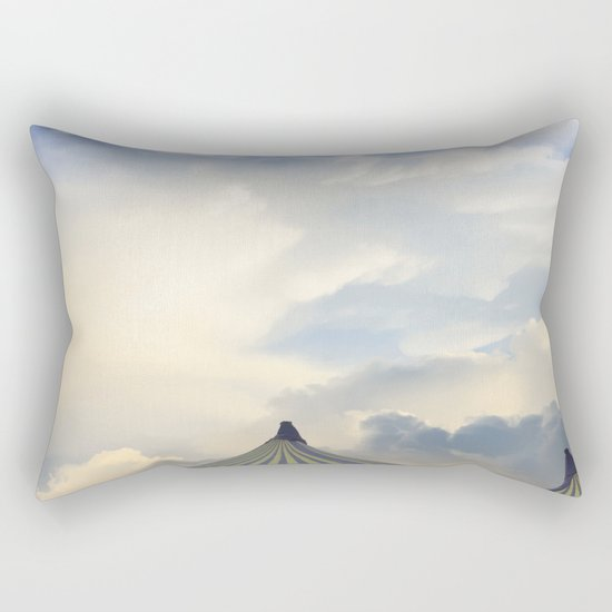 Turrets in the Clouds Rectangular Pillow