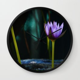 Nymphaea 'Rhonda Kay' Wall Clock