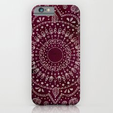 Wine Mandala iPhone 6s Slim Case