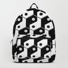 D20 Yin Yang Crit and Fail Backpack