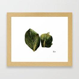 Skunk Cabbage Framed Art Print