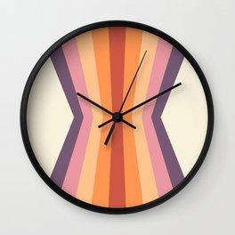 Velvet Morning Reflection Wall Clock