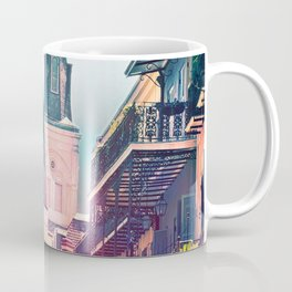 Surreal St. Louis Cathedral Coffee Mug