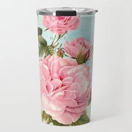Vintage Flowers #2 Travel Mug