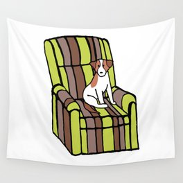 Eddie & The Ugly Chair Wall Tapestry