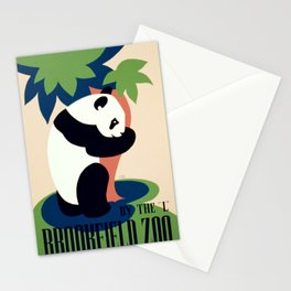 Vintage poster - Brookfield Zoo Stationery Cards