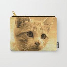 Baseball Kitten #1 Carry-All Pouch