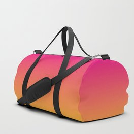 Ombre | Pink and Orange Duffle Bag