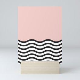 Waves of Pink Mini Art Print