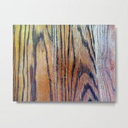 Worn Oak Metal Print