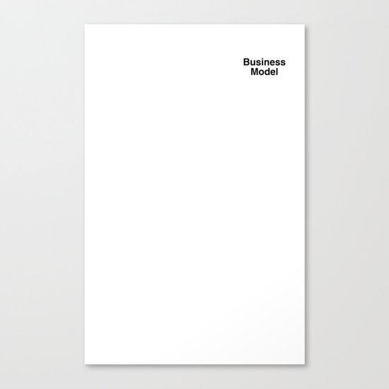 Business Model Canvas Print