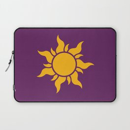 Tangled Rapunzel Sun Logo - Corona Symbol Laptop Sleeve