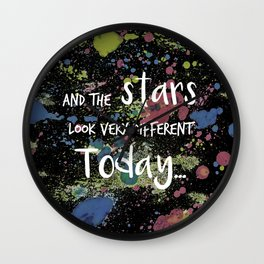 And the Stars look very Different today... Wall Clock