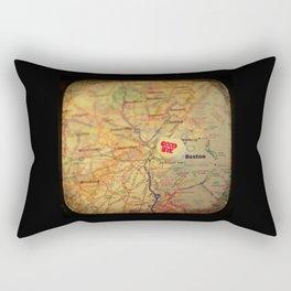 Goodbye Boston Rectangular Pillow