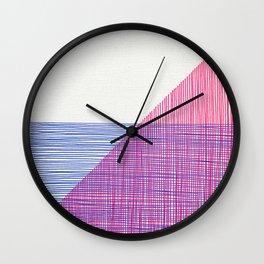 Line Art 2 Wall Clock