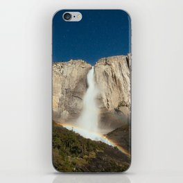 Yosemite Falls Night iPhone Skin