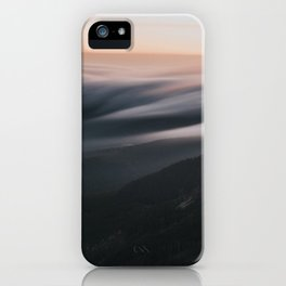 Sunset mood - Landscape and Nature Photography iPhone Case