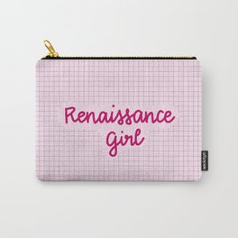 renaissance girl Carry-All Pouch