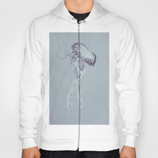 Jellyfish Black and White Hoody
