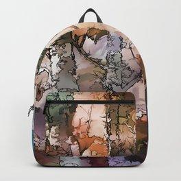 Autumn Aspen Trees - 1 by OLena Art - brand Backpack