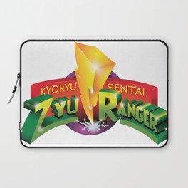 Zyu Ranger Logo Mashup Laptop Sleeve