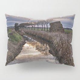 Landscape of The Marsh At Sundown Pillow Sham