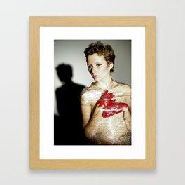 Corrupt Framed Art Print