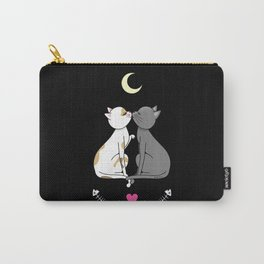Kawaii cats in love Carry-All Pouch