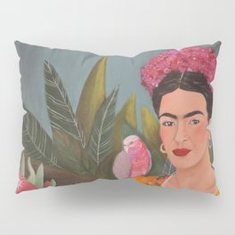 Frida a la casa azul Pillow Sham