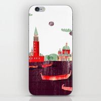 venice iPhone & iPod Skins featuring Venice by Claudia Voglhuber