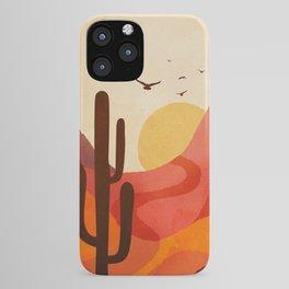Hot Desert Day 4 iPhone Case
