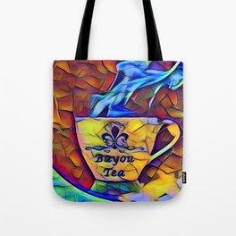 Bayou Tea Logo Tote Bag