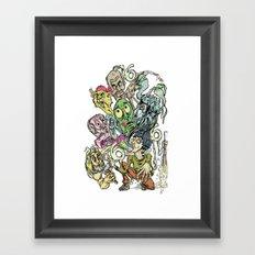 Sick Sick Sick Marc M. Of The Beast Framed Art Print