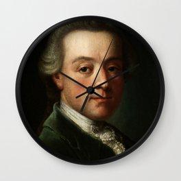 Wolfgang Amadeus Mozart (1756 -1791) portrait Wall Clock