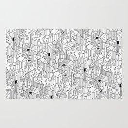 Little Escher's Building Blocks Rug
