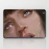 pulp fiction iPad Cases featuring pulp fiction  by yogirlkass