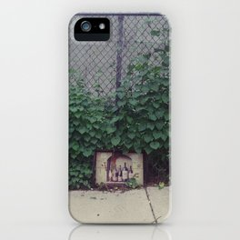 wine, trash iPhone Case