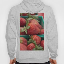 Strawberries at the Farmers Market Hoody