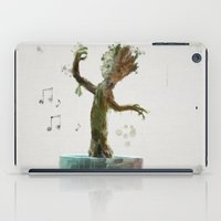 groot iPad Cases featuring Baby Groot by Scofield Designs
