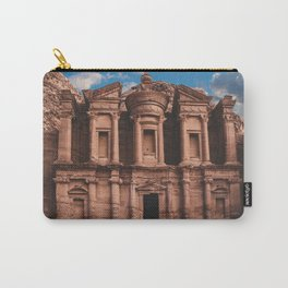 Petra Monastery Carry-All Pouch