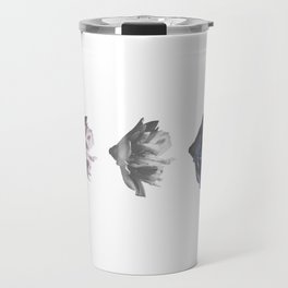 Budding into Blue Travel Mug