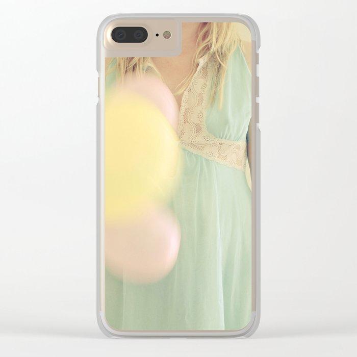 Far Away Clear iPhone Case
