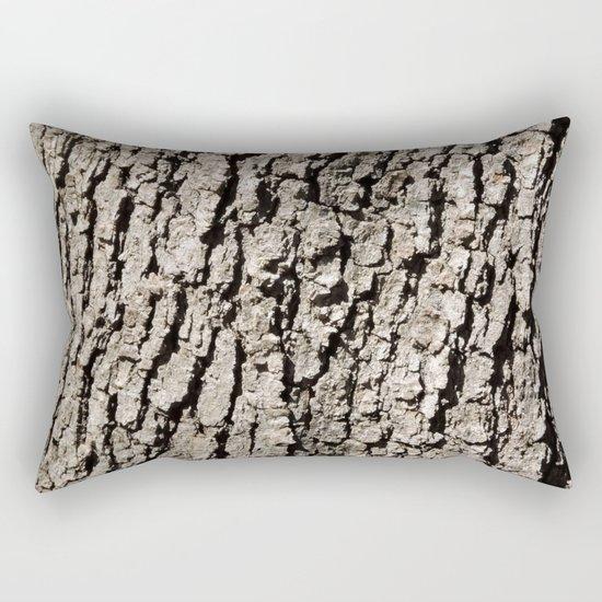 TEXTURES - Valley Oak Tree Bark Rectangular Pillow