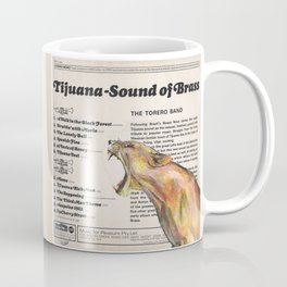 His Master's Voice - Lion Coffee Mug