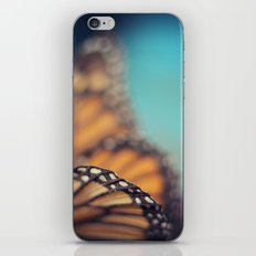 On the edge of Flying iPhone Skin