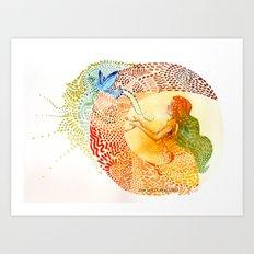 I love you free Art Print