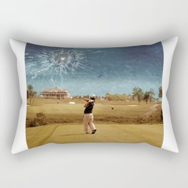 Broken Glass Sky Rectangular Pillow