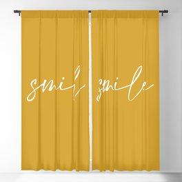 Smile Blackout Curtain