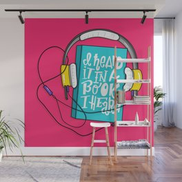 Book I Heard (HE102) Wall Mural