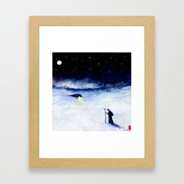 Journeying To The Oracle Framed Art Print